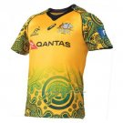 Australia Wallabies Rugby Jersey 2017-18 Indigenousus