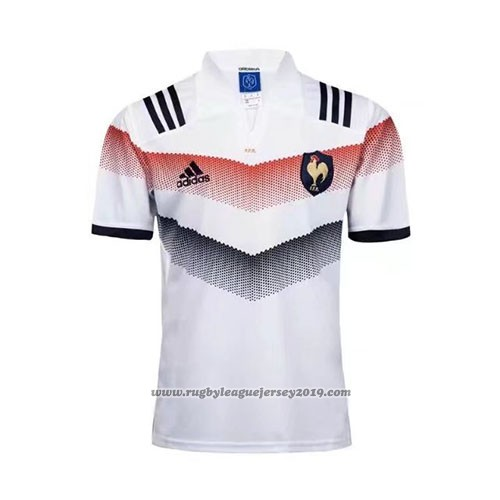 af0bc666 France Rugby Jersey 2017-18 Away - wholesale France rugby jerseys ...