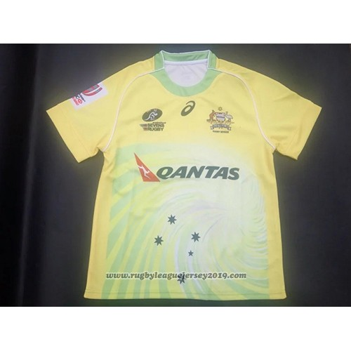 Australia Rugby Jersey 2017 Home