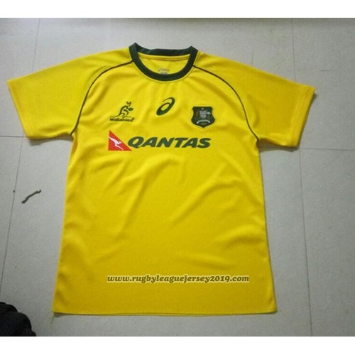 Australia Wallabies Rugby Jersey 2017 Home