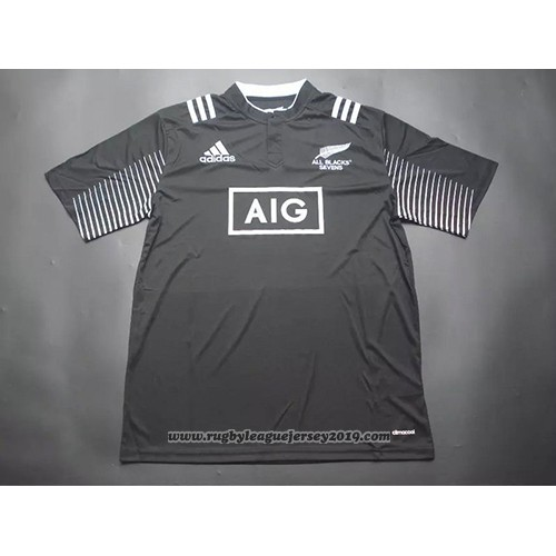 New Zealand All Blacks 7s Rugby Jersey 2015 Home