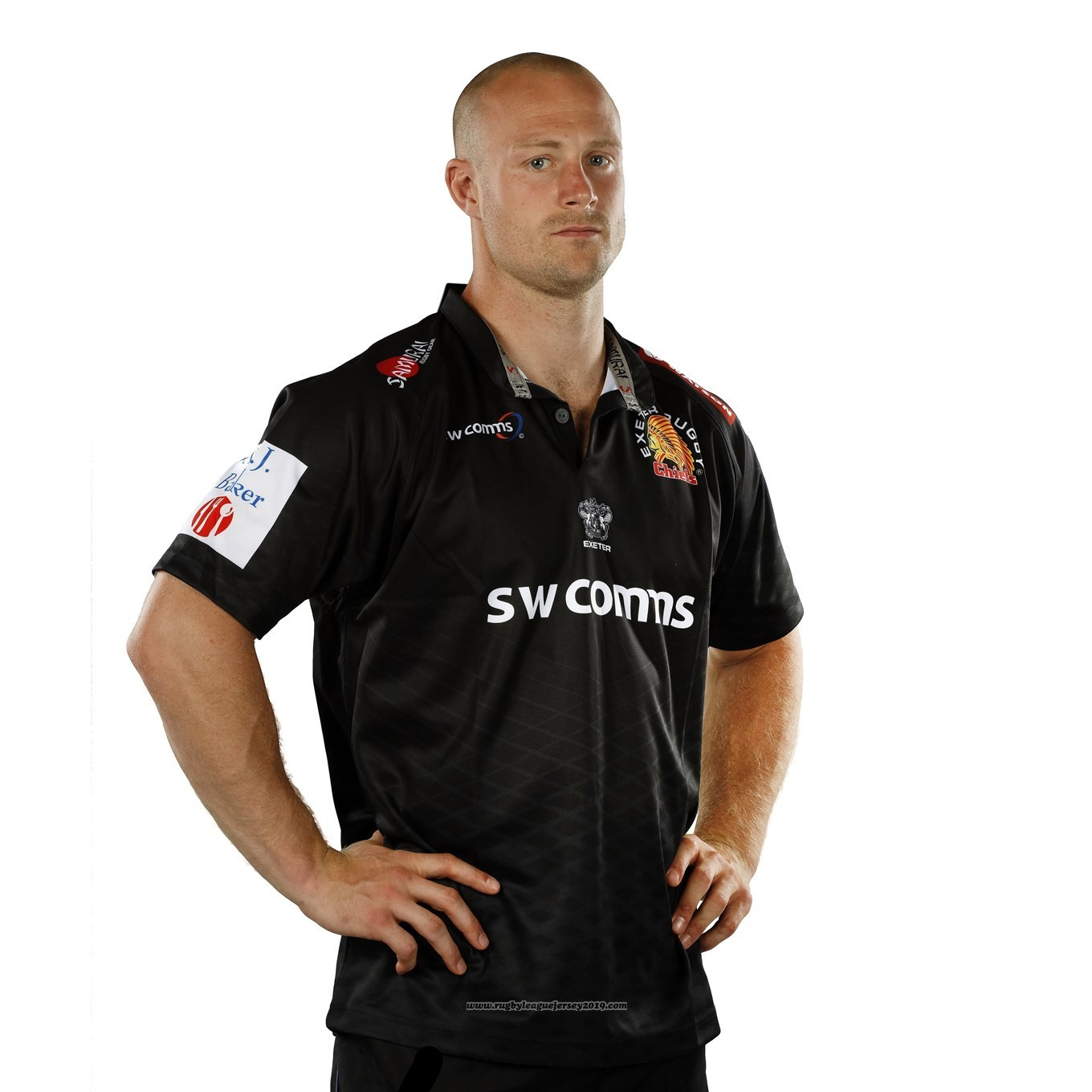 230f8c5ee34 Jersey Exeter Chiefs Rugby 2017-18 Home - wholesale Exeter Chiefs ...